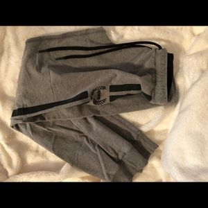 Victoria secret love pink grey joggers